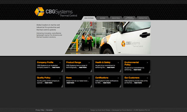 CBG Systems Website Design