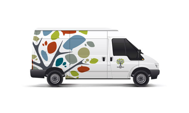 Royal Botanic Gardens & Domain Trust Vehicle Livery Design