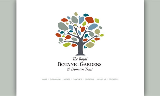 Royal Botanic Gardens & Domain Trust Website Design