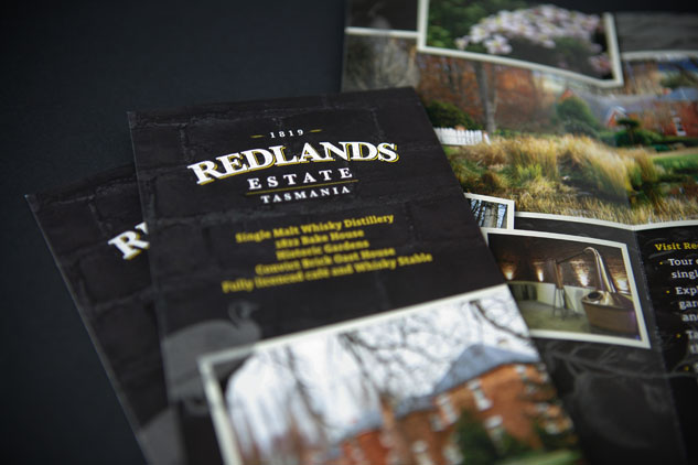 Redlands Estate Brochure Design